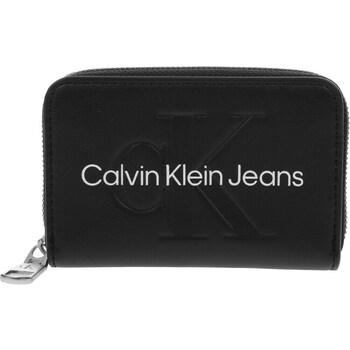 Bags Women Wallets Calvin Klein Jeans Accordion Zip Around Black
