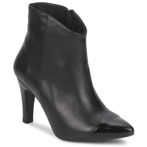 Shoes Women Ankle boots Pastelle ARIEL Black