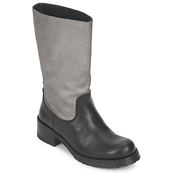 Shoes Women High boots Pastelle PETULA Silver Black