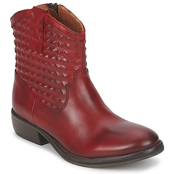 Shoes Women Mid boots Pastelle ELSA BORDEAUX