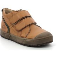Shoes Children Hi top trainers Aster Chaussures enfant  Biboc marron camel