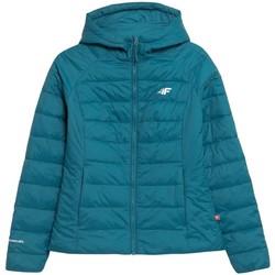 Clothing Women Duffel coats 4F KUDP009 Turquoise