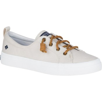 Shoes Women Low top trainers Sperry Top-Sider STS83794-070 Crest Vibe Canvas Oat