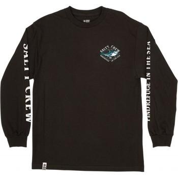 Clothing Men Long sleeved tee-shirts Salty Crew T-shirt à manches longues  Deadeye Standard noir