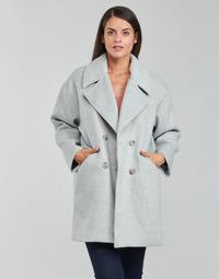 Clothing Women Coats Betty London PYAME Grey