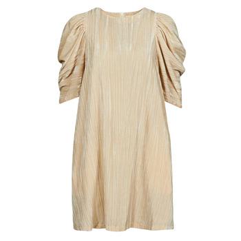 Clothing Women Short Dresses Moony Mood  Beige