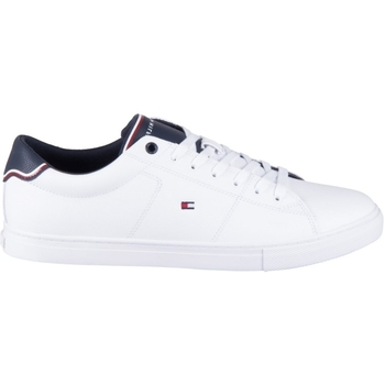 Shoes Men Low top trainers Tommy Hilfiger Essential Leather White