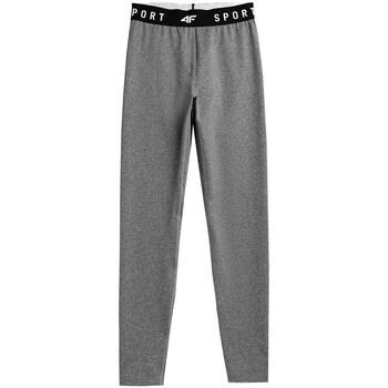 Clothing Women Leggings 4F SPDF351 Grey
