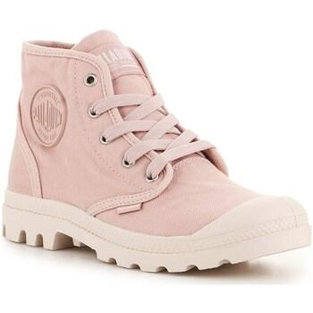 Shoes Men Hi top trainers Palladium US Pampa HI Pink