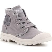 Shoes Hi top trainers Palladium US Pampa HI Grey