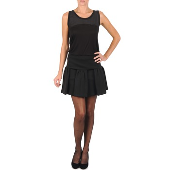 Clothing Women Skirts Manoush JUPE MERINGUE Black