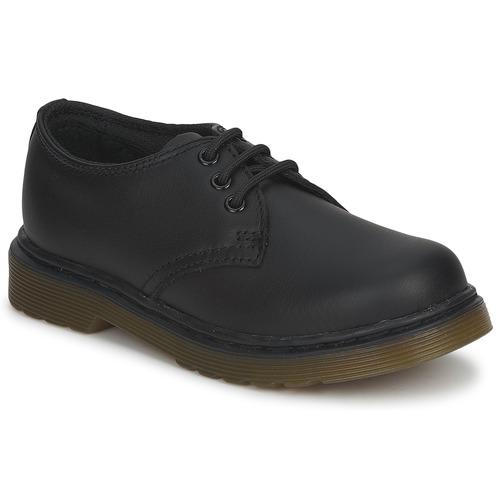 Shoes Children Derby Shoes Dr Martens Dm J Shoe Black
