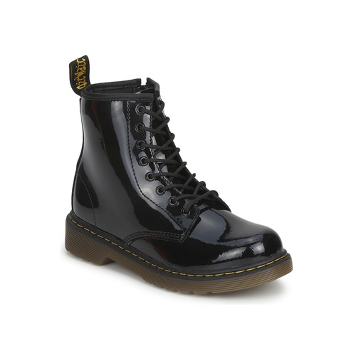 Shoes Girl Mid boots Dr Martens Dm J Boot Black