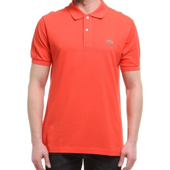 Clothing Men Short-sleeved polo shirts Lacoste L1212SJS Red