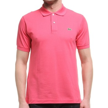 Clothing Men Short-sleeved polo shirts Lacoste L1212GMZ Pink
