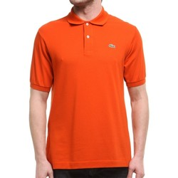 Clothing Men Short-sleeved polo shirts Lacoste L1212WU9 Orange