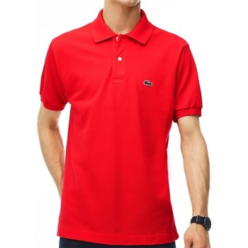 Clothing Men Short-sleeved polo shirts Lacoste L121200ZBG Red