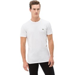 Clothing Men Short-sleeved t-shirts Lacoste TH2038001 White