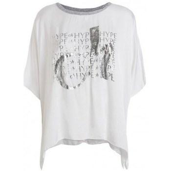 Clothing Women Short-sleeved t-shirts Deha D43333 White
