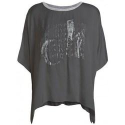 Clothing Women Short-sleeved t-shirts Deha D43333 Graphite