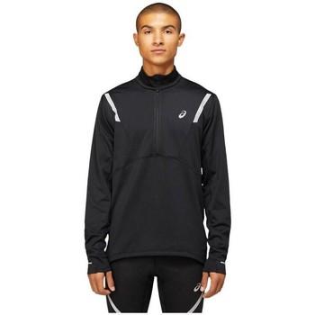 Clothing Men Sweaters Asics Liteshow Winter 12 Zip Top Black