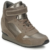 Shoes Women Hi top trainers Ash DRUM BEIGE