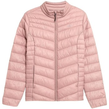 Clothing Women Jackets 4F KUDP002 Pink