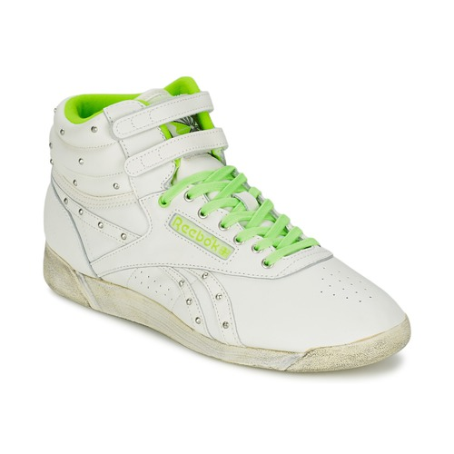 Shoes Women Hi top trainers Reebok Sport F/S HI White