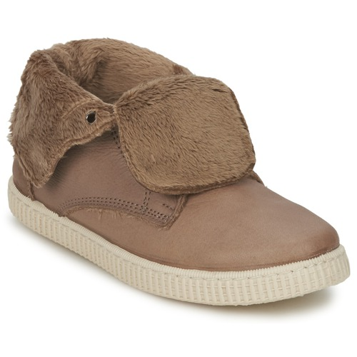 Shoes Girl Hi top trainers Chipie SABRINA Beige