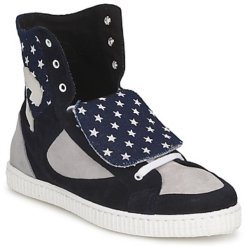 Shoes Women Hi top trainers Chipie JILIANE Marine / Grey