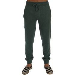 Clothing Men Tracksuit bottoms D&G Green Cashmere Training Pants Green