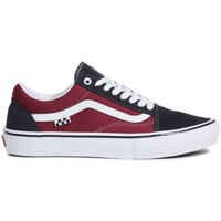 Shoes Men Skate shoes Vans Old Skool Black, Burgundy