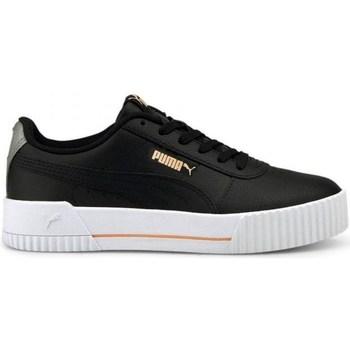 Shoes Women Low top trainers Puma Carina L Black
