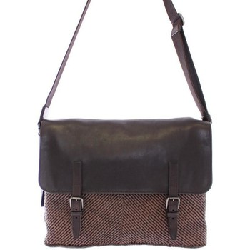 Bags Women Messenger bags D&G Brown leather messenger bag One Size Brown