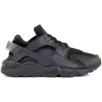 Shoes Men Low top trainers Nike Air Huarache Black
