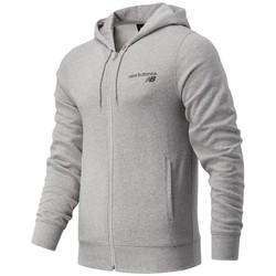 Clothing Men Sweaters New Balance MJ03907AG Grey