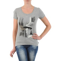 Clothing Women short-sleeved t-shirts School Rag TORI Grey