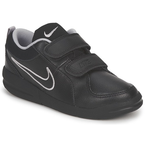 Shoes Children Low top trainers Nike PICO 4 PSV Black / Grey