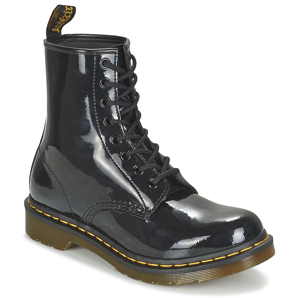 Dr Martens 1460 8 EYE BOOT Black Patent