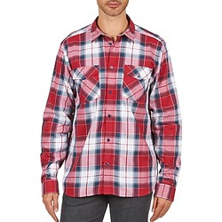Clothing Men long-sleeved shirts Wesc JOEY Red