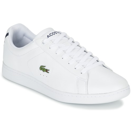 Shoes Men Low top trainers Lacoste CARNABY EVO LCR White