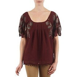 Clothing Women Short-sleeved t-shirts Lollipops POCAHONTAS TOP Bordeaux