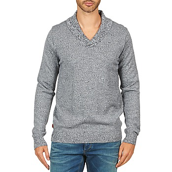 Clothing Men Jumpers Kulte PULL CHARLES 101823 BLEU Blue