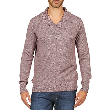 Clothing Men jumpers Kulte PULL CHARLES 101823 ROUGE Red