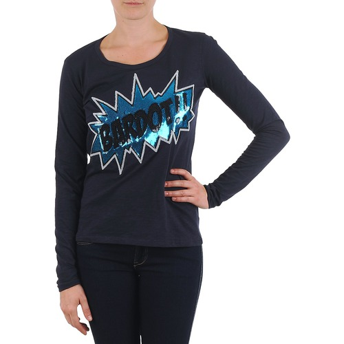 Clothing Women Long sleeved tee-shirts Brigitte Bardot BB43130 Blue