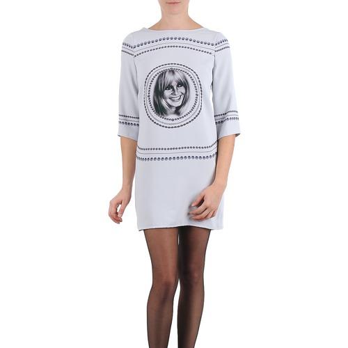 Clothing Women Short Dresses Brigitte Bardot BB43121 Grey