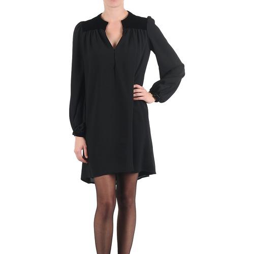 Clothing Women Short Dresses Brigitte Bardot BB43119 Black