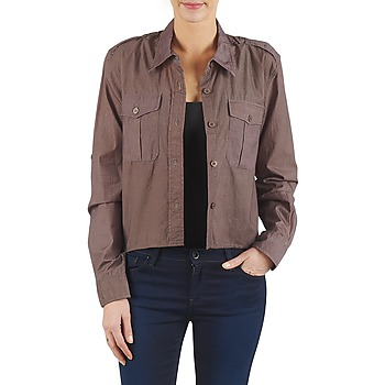 Clothing Women Shirts Brigitte Bardot BB43077 Brown