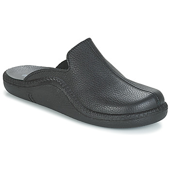 Shoes Men Slippers Romika Mokasso Black