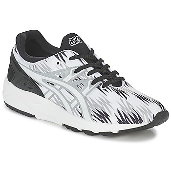 Asics  GELKAYANO TRAINER EVO  mens Shoes (Trainers) in white